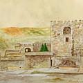 Alcazaba Of Almeria by Angeles M Pomata