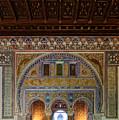 Alcazar De Sevilla Archway by Adam Rainoff