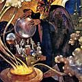 Alchemist 1912 by Padre Art