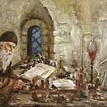 Alchemist by Arturas Slapsys