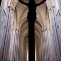 Alcobaca Monastery Church Crucifix by Jose Elias - Sofia Pereira