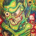 Alcoholic Demon by Americo Salazar