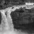 Aldeyjarfoss Waterfall Iceland 3353 by Bob Neiman