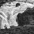 Aldeyjarfoss Waterfall Iceland 3381 by Bob Neiman