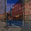 Ale House And Street Lamp by Anita Burgermeister