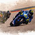 Aleix Espargaro Team Suzuki Ecstar by Don Kuing