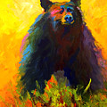 Alert - Black Bear by Marion Rose