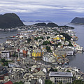 Alesund From Above by Tony Murtagh