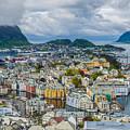 Alesund Norway Cityscape by Shaun Wilkinson