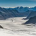 Aletsch Gletscher Switzerland by Brenda Jacobs