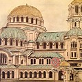 Alexander Nevsky Cathedral by Lauren Ullrich