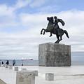Alexander The Great, Thessaloniki, Greece by Moshe Torgovitsky