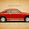 Alfa Romeo Giulietta Sprint by Mark Rogan