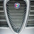 Alfa-romeo Grille Emblem by Jill Reger