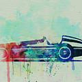 Alfa Romeo Tipo Watercolor by Naxart Studio