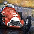 Alfa Romeo158 British Gp 1950 Luigi Fagioli by Yuriy Shevchuk