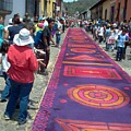 Alfombra In Purples by Lauris Burns