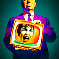 Alfred Hitchcock Psycho 20151218v3 by Wingsdomain Art and Photography