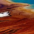 Algae Flows Around Grand Prismatic by Adam Jewell