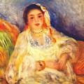 Algerian Woman Seated 1882 by Renoir PierreAuguste