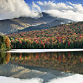 Algonquin Peak From Heart Lake - Adirondack Park - New York by Brendan Reals