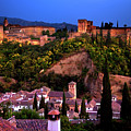 Alhambra At Night  by Harry Spitz