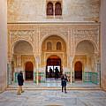 Alhambra Courtyard by Adam Rainoff