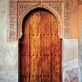 Alhambra Door by Adam Rainoff