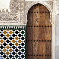 Alhambra Door Detail by Jane Rix