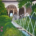 Alhambra Palace by Rosemarie Perks