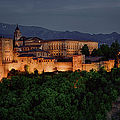 Alhambra Sunset by Joan Carroll