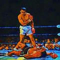 Ali Over Liston by Dan Sproul