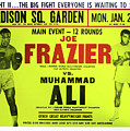 Ali Vs Frazier Boxing Poster by Digital Reproductions