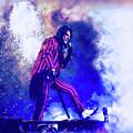 Alice Cooper On Stage by Thomas Leparskas