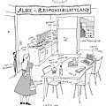 Alice In Responsibilityland by Liana Finck