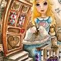 Alice In Wonderland 2 by Lucia Stewart