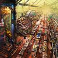 Alien Bazaar by Odysseas Stamoglou