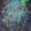 Alien Bigfoot by Absinthe Art By Michelle LeAnn Scott