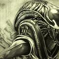 Alien by Chris Volpe