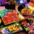 Alien Food Delicacies by Ron Fleishman