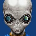 Alien From Space by Murphy Elliott