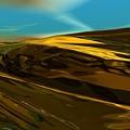 Alien Landscape 2-28-09 by David Lane