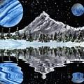 Alien Landscape by Bill Richards