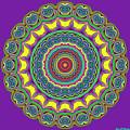 Alien Prayer Circle by Joy McKenzie