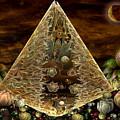Alien Pyramid by Peggi Wolfe