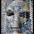 Alien Ufo Mosaic by Paul Van Scott