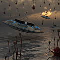Aliens Celebrate Their Annual Harvest by Mark Stevenson