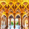 Aljaferia Stadpalast, Saragossa, Spain by Nico Trinkhaus