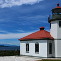 Alki Point Light by Christiane Schulze Art And Photography
