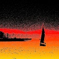 Alki Sail  by Tim Allen